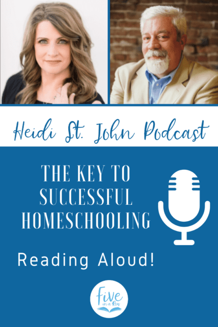 Are your kids bored with learning? Uninterested? Are you struggling to breathe life into your homeschool? Are you dragging your feet at the beginning of your homeschool day? Join veteran homeschool dad and speaker, Steve Lambert as he and I talk about one of the best ways to build relationships and encourage a love of learning in your home. Listen and then head over to Fiveinarow.com for their free downloads!