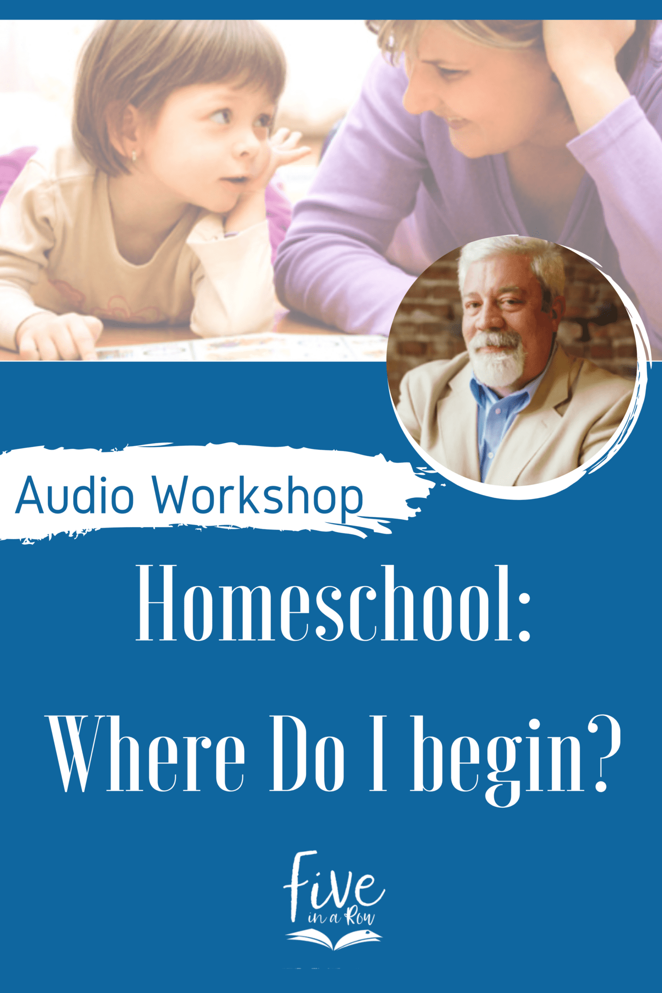 Homeschooling can seem overwhelming, but Steve will help you wrap your mind around the 'big picture' and make sense of this seemingly enormous undertaking.