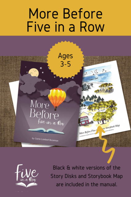 Building on the foundation of the bestselling Before Five in a Row volume, More Before Five in a Row inspires your child's learning through extraordinary children's picture books while nurturing your relationship with them and making memories to last a lifetime! Designed for ages 3 through 5, this preschool and kindergarten curriculum is filled with lessons for you and your child to enjoy together and prepare your child for the lifelong adventure of learning.