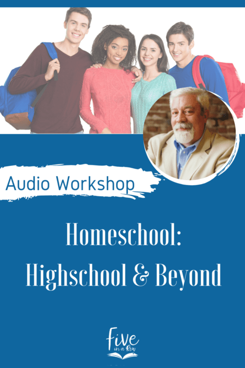 The final years of homeschooling are in many ways, the most overwhelming. Steve talks about the pathway through high school and on to college. But perhaps more importantly, Steve talks frankly about strengthening the marriage relationship in those final years and helping wives find purpose and direction after the nest is empty.