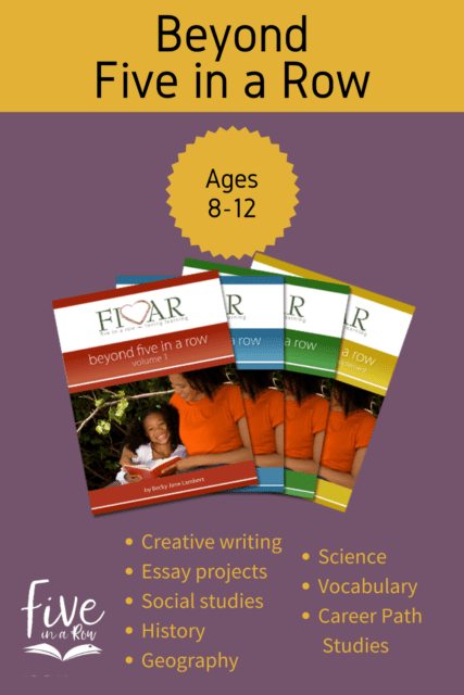You will be astounded at the richness and the joy of learning that flows from these carefully chosen chapter books and the accompanying  This is truly a rich curriculum taught in a way that encourages students to think, wonder, research, and quickly find a place to apply what they have learned.