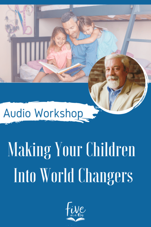 """Learn the """"secret"""" that other speakers aren't willing to tell you about helping your sons and daughters grow into the kinds of men and women the Lord wants them to be. A challenging but truthful workshop that will change everything you've been told about raising """"World-Changers""""."""