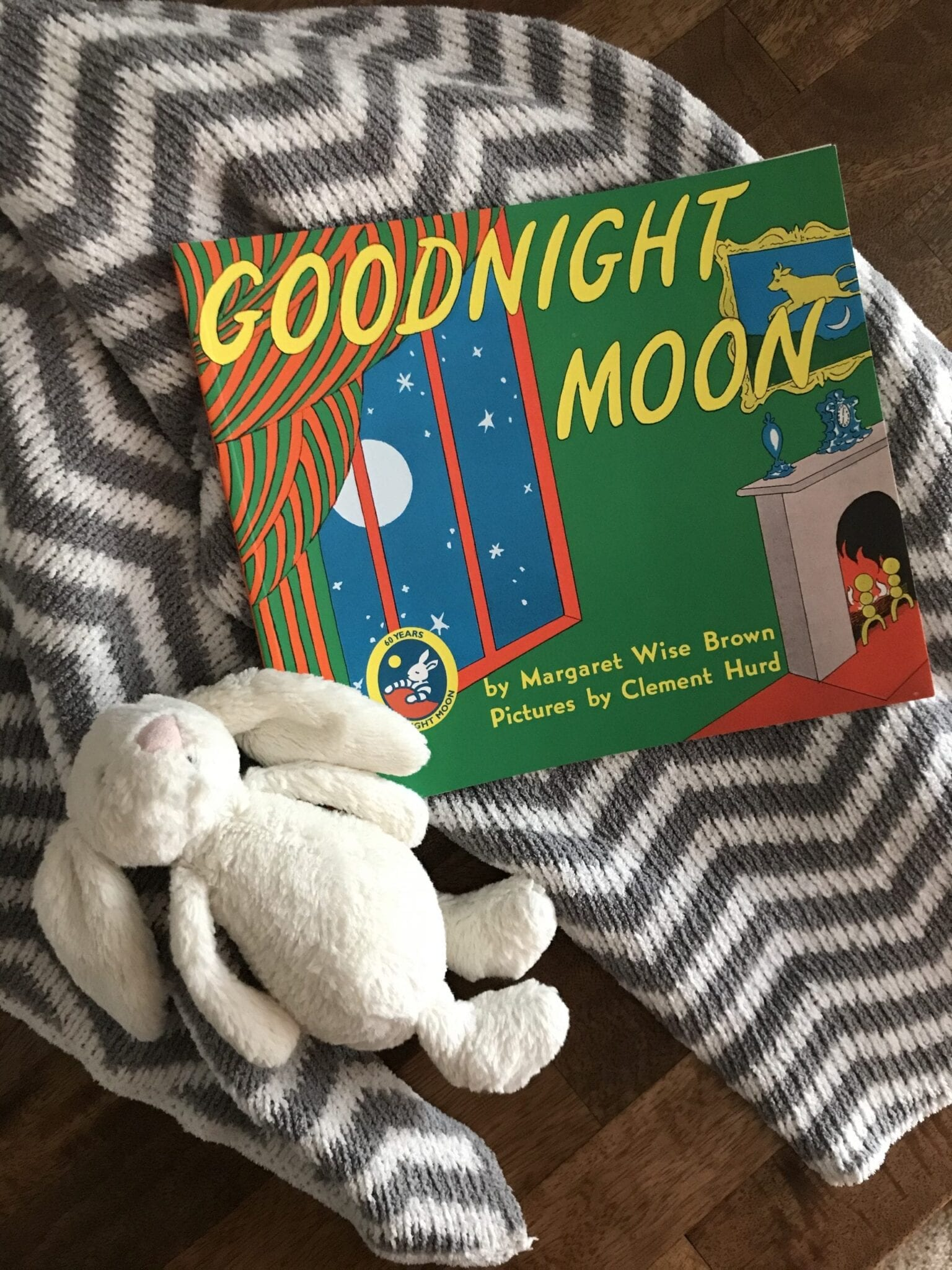 Free download of Goodnight Moon in the article homeschooling with a toddler