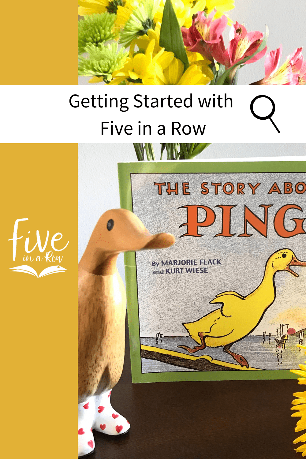 Getting Started with Five in a Row is so easy, see what the Botch family's first week was like.  It's so easy and fun using your favorite picture books!