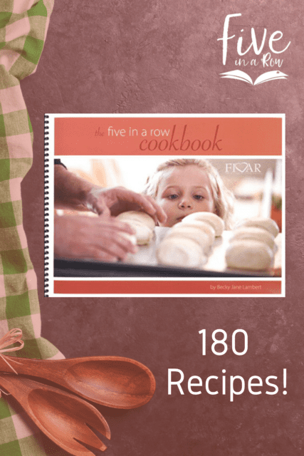 You'll find more than 180 recipes to share with your children; recipes relating to each of the 55 units found in Volumes 1-3 of Five in a Row and all 12 units of Beyond Five in a Row. The Five in a Row Cookbook is far more than just recipes, however. This digital download is an interactive learning experience with areas for your children to record their own thoughts through drawings, photographs, writing and art.